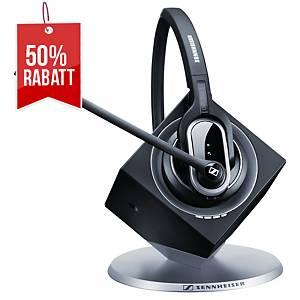 Sennheiser Headset DW Pro 1, Sprechzeit 8 – 12 Stunden, einöhrig