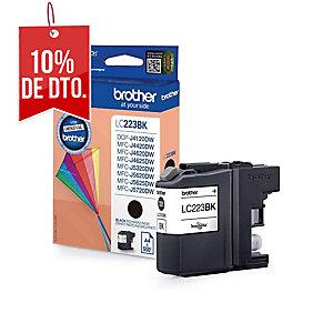 Cartucho de tinta BROTHER negro LC223BK para J562DW/J4120DW