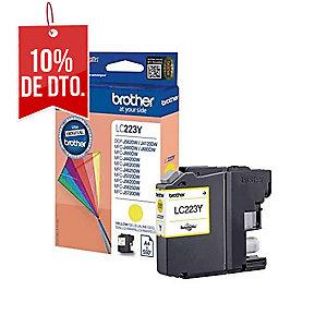 Cartucho de tinta BROTHER amarillo LC223Y para J562DW/J4120DW