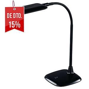 Candeeiro Aluminor Mika - LED - braço flexível - preto