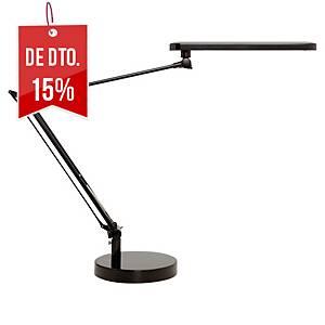 Candeeiro Unilux Manboled - LED - braço articulado duplo - preto