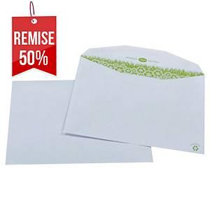 Enveloppe mécanisable recyclée 162 x 229 - 80 g - par 500