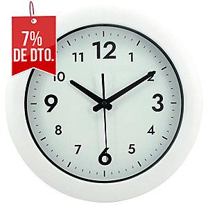 RELOJ PARED REDONDO ALBA EASY TIME BLANCO