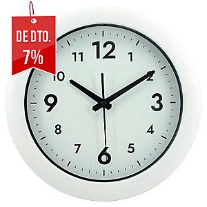 RELOGIO PAREDE REDONDO ALBA EASY TIME BRANCO