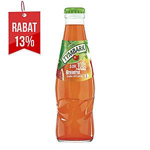 Sok czerwony grejpfrut TYMBARK, 15 butelek x 0,2 l