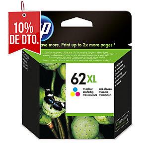 Cartucho de tinta HP 62XL tricolor alta capacidad C2P07AE para Envy 5540