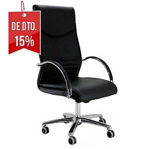 Cadeira com mecanismo basculante Mayuag - preto