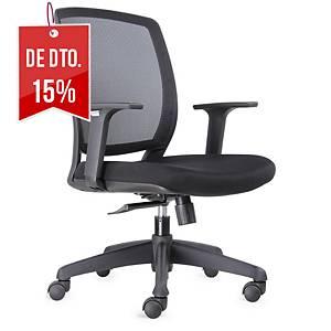 Cadeira com mecanismo basculante Lunamn - preto