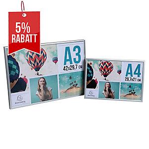 Bilderrahmen Superior AM8-A3SV, für DIN A3, aluminium, silber