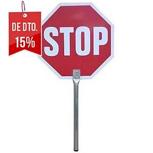 SINAL DE MAO STOP/DSENTIDO OBRIG ALUM