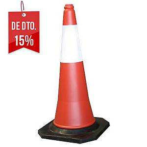 Cone de segurança de 2 peças Julio García - 750 mm - laranja