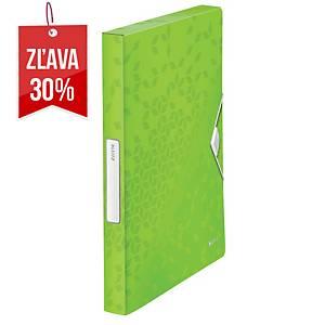 Box na spisy Leitz Wow, PP, farba zelená