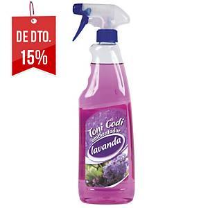 Ambientador em spray Toni Codi - 750 ml - aroma a lavanda