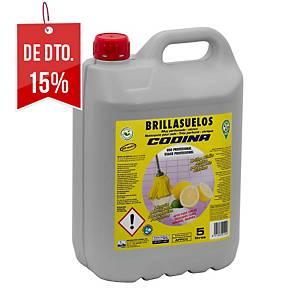 Lava chão La Oca Brillant - 5 L - aroma cítrico