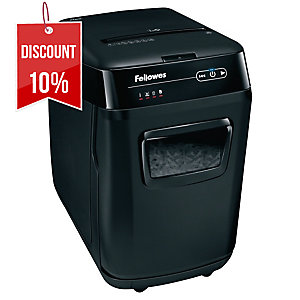 FELLOWES AUTOMAX 200C AUTO SHREDDER CC