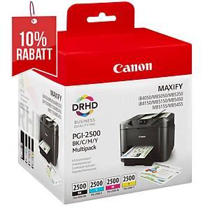 Tintenpatrone Canon 9254B004, 19,3 ml, Multipack, Packung à 4 Stück