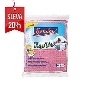 Spontex Toptex houbovitá utěrka, 5 ks v balení