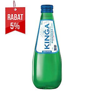 Woda mineralna KINGA PIENIŃSKA niegazowana, zgrzewka 24 szklane butelki x 330 ml