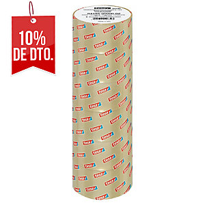 Pack de 6 cintas de embalar TESA polipropileno 50x66 blanco 4195