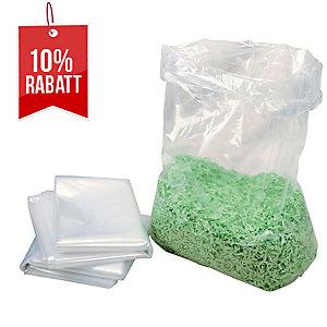 Plastiksäcke HSM 1410995000, für Aktenvernichter, Volumen: 116 Liter, 100 Stück