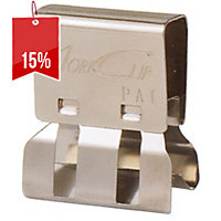 CARL MORI CLIPS SMALL SILVER - BOX OF 50
