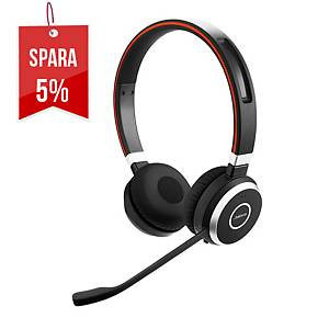 Headset Jabra Evolve 65MS Duo, trådlöst
