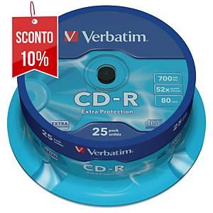CD-R Verbatim 700 MB 80 min spindle - conf. 25