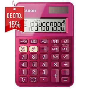 Calculadora de bolso Canon LS-100K - 10 dígitos - rosa