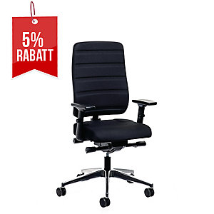 Bürostuhl Proseida Yourope 4852, hohe Rückenlehne, schwarz