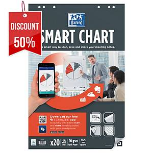 OXFORD SMARTCHARTS SQUARED 65X99CM