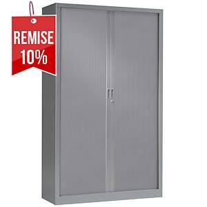 Armoire à rideaux monobloc Pierre Henry - 198 x 120 cm - aluminium