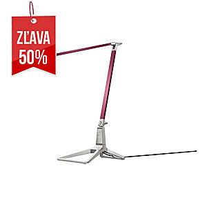 Stolná LED lampa Leitz Style Smart, granátovo červená