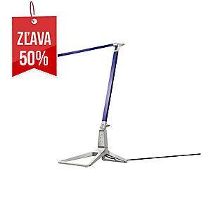 Stolná LED lampa Leitz Style Smart, titánovo modrá
