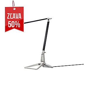Stolná LED lampa Leitz Style Smart, saténovo čierna
