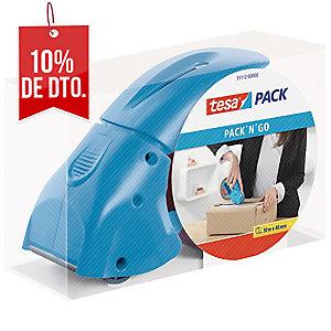 Precintadora TESA PACK N GO para todo tipo de sellado de cartón de núcleo 3