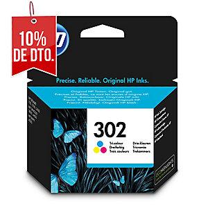 Cartucho de tinta HP 302 F6U65AE color