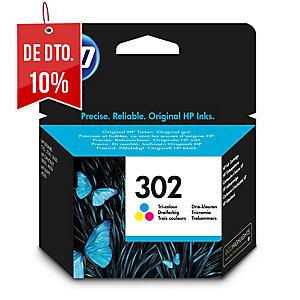 Cartucho de tinta HP 302 F6U65AE cor