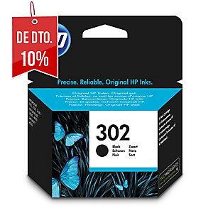 Cartucho de tinta HP 302 F6U66AE preto