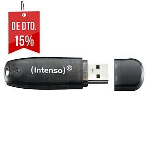 Memória USB Intenso Stick Rainbow - USB 2.0 - 16GB - verde
