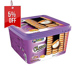 JULIE S CHEESE SANDWICH - BOX of 18
