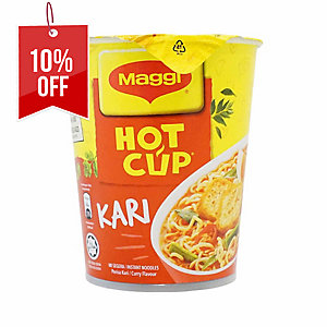 MAGGI CURRY HOT CUP 64G - PACK OF 6