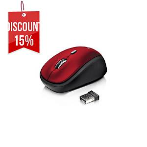 YVI Wireless Mouse - Red