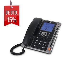 Telefone analógico Telecom SPC3604N - preto