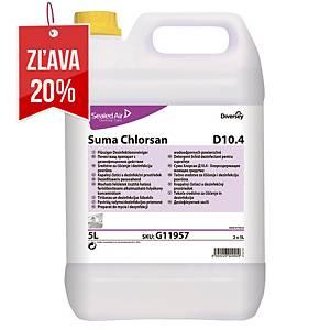 Čistiaci a dezinfekčný prostriedok Suma Chlorsan D10.4, 5 l