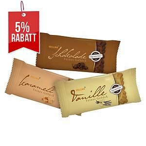 Gebäck Hellma 70101544, 3er Mix, einzeln verpackt, 200 Stück