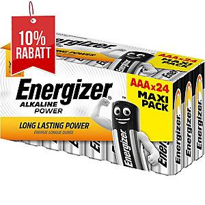 Batterie Energizer E300456500, Micro, LR03/AAA, 1,5 Volt, VALUE, 24 Stück