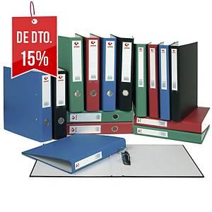Dossier Grafoplás - fólio - 2 argolas mistas - lombada 58 mm - azul