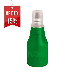 Frasco de tinta para almofada de carimbo Colop - 25 ml - verde