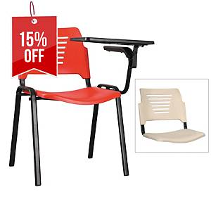 Artrich Training Chair With Writing Tablet Ivory