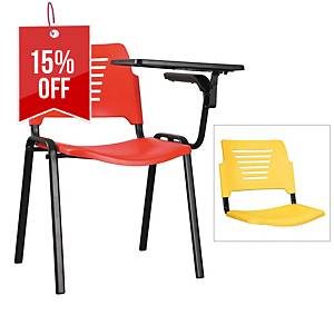 Artrich Training Chair With Writing Tablet Yellow